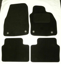 Tailored black floor Carpet mats for Vauxhall Astra  H  2004 TO 2009 VXR B1304