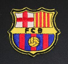 "FCB""Barcelona FC Logo Brand New Sew/Iron on Patch Badge"