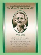 #D531.  SIR DONALD BRADMAN POST OFFICE CARD
