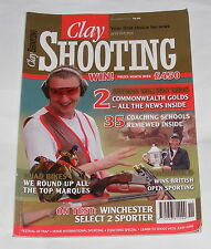 CLAY SHOOTING MAGAZINE NOVEMBER 2010 -WINCHESTER SELECT 2 SPORTER
