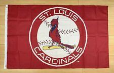 St. Louis Cardinals 3x5 ft Flag Banner MLB Retro Vintage Throwback