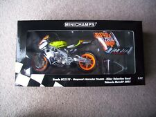 Minichamps 1:12 Rossi Honda RC211V Valencia 2003 Moto GP NRFB