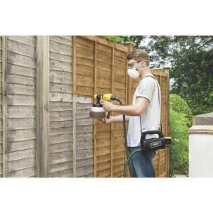 Wagner Electric 460W Fence & Decking Paint Sprayer 220-240V Gun 1.4L Garden Wood