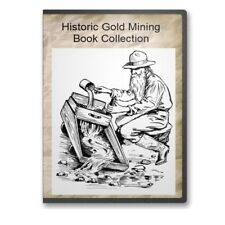 Gold & Silver Mining Assaying Melting Refining Metallurgy 34 Books - CD  B489