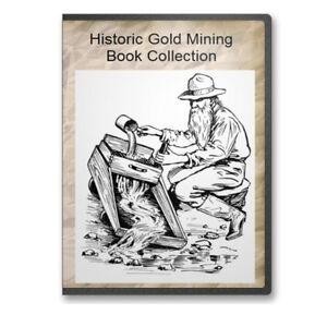 Gold & Silver Mining Assaying Melting Refining Metallurgy 34 Books - CD  B489
