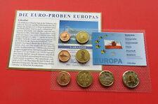 GIBRALTAR 2006 SET EURO 8 50p COINS PENCE & POUNDS SPECIMEN PATTERN PROTOTYPE
