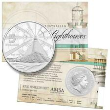 2015 Australian Lighthouses 1oz $5 Five Dollar Pure Silver Frosted UNC Coin RAM