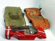 Vintage 1/24 and 1/32 Junk Slot Car Body Lot