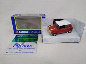 Corgi Minian Models John Cooper Mini Die-cast Car Limited Edition 86/360