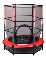Jeux et activités de plein air rouge avec trampolines