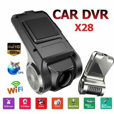 X28 USB Car DVR Camera Video Recorder WiFi GPS ADAS G-sensor Dash Cam 1080P ZC