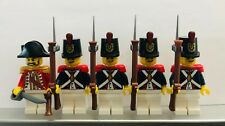 Lego PIRATES Imperial Guard REDCOAT Soldiers MINIFIGS DARK BLUE VERSION Armada