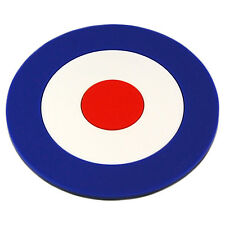 Mod Target PVC Coaster -Cool Gift For Him/Her