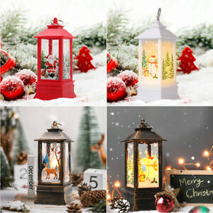 Christmas LED Light Up Decoration Festive Indoor Outdoor Figurine Lanterns M/L