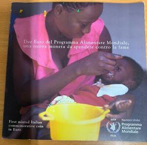 ITALIA 2004 FAO 2 Euro folder ufficiale