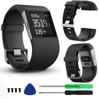 Replacement Strap Band Wristband Large for Fitbit Surge Watch Activity Tracker