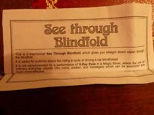 Magic Blindfold