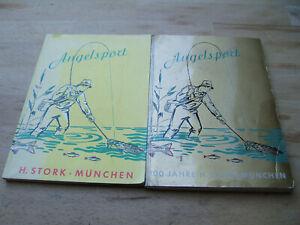 2 alte Stork - Kataloge  - H.Stork München