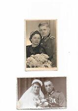2 Hochzeitsfotos 2 Weltkrieg