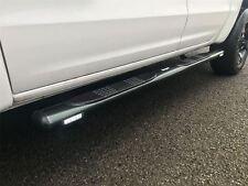 To Fit 2010 - 2016 Volkswagen Amarok Side Bars Steps Tubes Running Boards Black