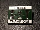 Celtic Treble Winners 2016-17 Fc Pin Badge