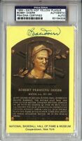 Bobby Doerr Signed Autographed Hall of Fame Postcard Boston Red Sox PSA 83184306