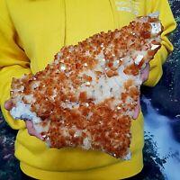 Spectacular Citrine Quartz Crystal Cluster - Natural Raw Healing Mineral 3kg