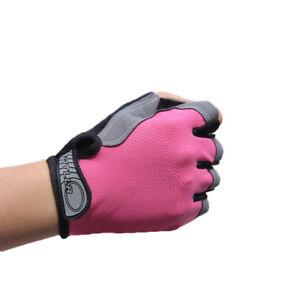 Unisex Sports Biking Gloves Cycling Race Gel Half Finger Mittens Fingerless C8