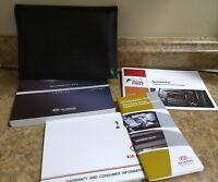 2011 11 Kia Sorento Owners Manual with Case