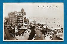 1932 RP PC PALACE HOTEL, SOUTHEND-ON-SEA CARS, PEOPLE, BUSY SCENE