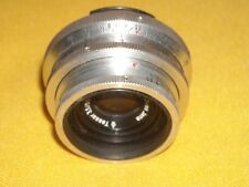 Carl Zeiss Jena Tessar 3.5/50 red T Exakta mount 3672523 pre owned
