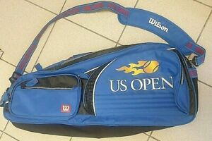 * Rare* Wilson US Open tennis racket bag vintage multiple racket and Ball holder