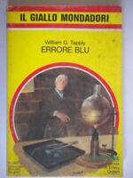 Errore bluTapply William Mondadorigiallo1951 romanzo Coyne racconto Pachter