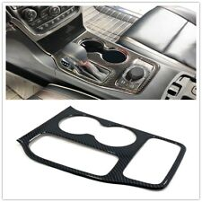 Carbon Front Center Console Shift Sticker for Jeep Grand Cherokee WK2 2014-2018