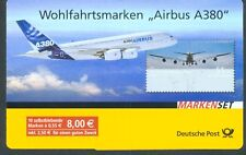 Germany 2008 Airbus 10 value self adhesive booklet sg.3543 MNH
