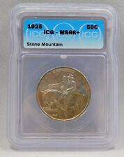 1925 Stone Mountain Commemorative Half Dollar **MS66+ PLUS ICG **