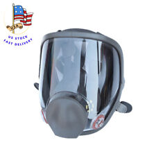 Full Face Large Size Vision Dust Facepiece Respirator Painting Spraying Gas Mask