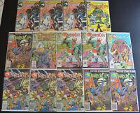 (14) Book THUNDERCATS Marvel Comic (1985-1988) LOT #2 3 5 6 7 20 21