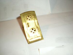 Lionel Prewar #78 signal Door with light bulb holders, all Brass