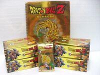 "Dragon Ball Z ""4 box da 36 buste con 5 carte + raccoglitore"" serie GOLD GPZ"