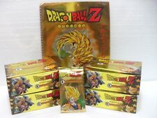 "Dragon Ball Z ""4 box da 36 buste con 5 carte + 1 raccoglitore"" serie GOLD GPZ"