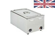 More details for electric bain marie wet & dry heat 1/1gn - ceonline olgbm21 - 1 x full gn pan