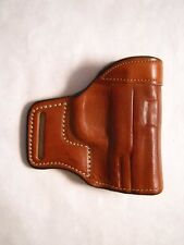 S&W M&P Outside Waistband OWB tan Leather Compact FS bold line