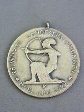 """Schützen-Medaille """"Württ. Landesfestschiessen 1922"""" Silber"""
