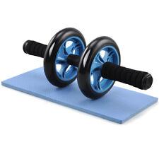 Ab Roller Doppia Ruota esercizio Addominali Allenamento Braccia Schiena Spalle