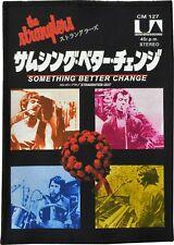 THE STRANGLERS PATCH SOMETHING BETTER CHANGE JAPANESE JAPAN VINTAGE ADVERT PUNK