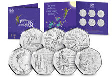 The 2020 Official Peter Pan 50p Coin Set