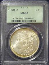 TMM* 1900-O PCGS Certified Silver Morgan Dollar MS63