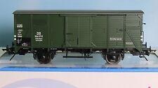 Lenz 42210-05, Spur 0,  DB Gerätewagen G 10, grün , 2achs., Epoche 3