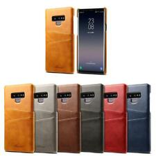 Leather Card Slot Phone Case Protective Back Cover for Samsung Galaxy Note 9 Lot